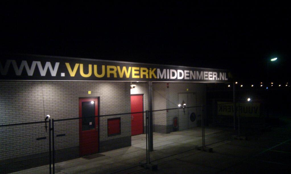 Vuurwerk Middenmeer, ons vuurwerkdepot